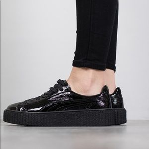 ddca5f4aa677 Puma Shoes - FENTY PUMA by Rihanna Pat Leather Creepers